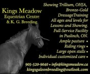 Kings Meadow Equestrian Centre & K. G. Breeding