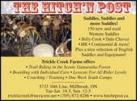 THE HITCH'N POST  Saddles, Saddles, and more Saddles!