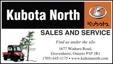 Kubota North  SALES AND SERVICE