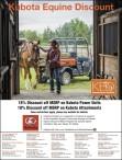 Kubota Equine Discount