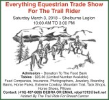 Everything Equestrian Trade Show For The Trail Rider