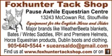 Equipment for the English Horse and Rider