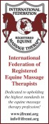 High Standards in the Equine Massage Therapy Profession